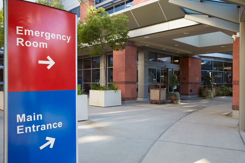 hospital patient visitors