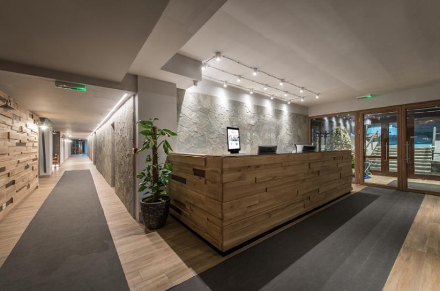 Modern Lobby Area