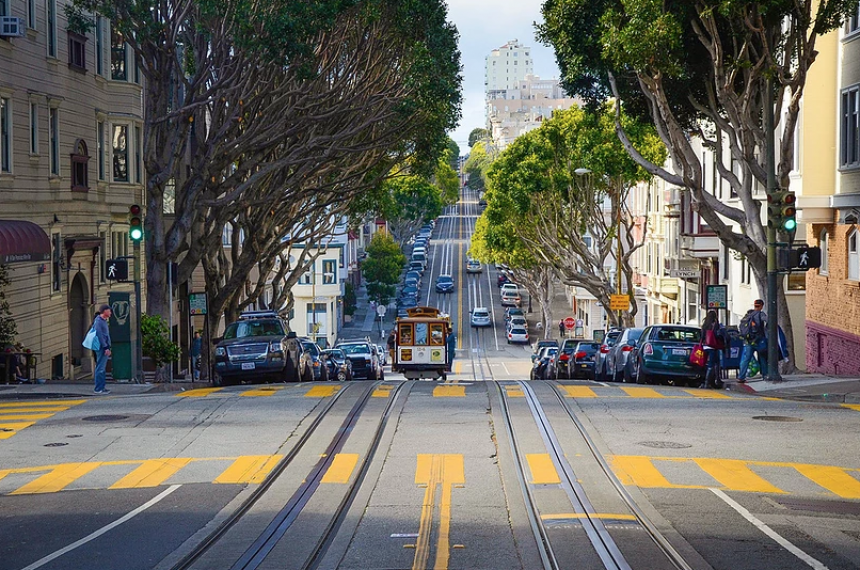 View of San Francisco Street