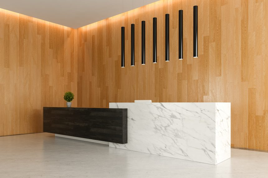 Sleek New Lobby Area